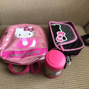 Hello Kitty Small Backpack/ Entertainment Game Tab